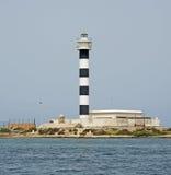 Vuurtoren op Mar Menor Royalty-vrije Stock Afbeeldingen