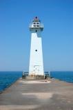 Vuurtoren op Meer Ontario royalty-vrije stock afbeelding