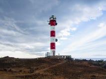 Vuurtoren Punta Rasca Stock Fotografie