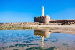 Vuurtoren in Rabat Royalty-vrije Stock Afbeeldingen