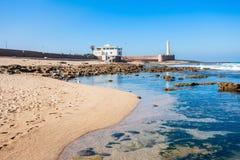Vuurtoren in Rabat Royalty-vrije Stock Foto's