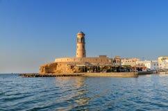 Vuurtoren in Sur, Oman royalty-vrije stock afbeelding