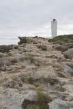 Vuurtoren van de dag de Tijd Geschotene Robe, Zuid-Australië Stock Afbeelding