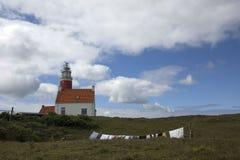 Vuurtoren van Texel Royalty-vrije Stock Foto's