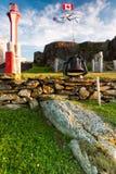 Vuurtoren van Yarmouth, Nova Scotia Royalty-vrije Stock Foto's