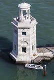 Vuurtoren in Venetië Stock Fotografie