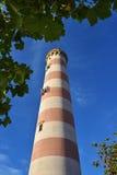 Vuurtorentoren, Portugal stock afbeeldingen