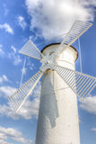 Vuurtorenwindmolen Royalty-vrije Stock Afbeelding