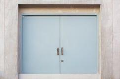 Vuurvaste deur Royalty-vrije Stock Afbeeldingen