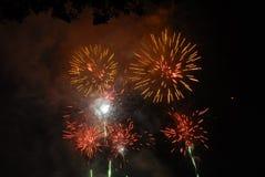 Vuurwerk 1 Stock Afbeelding