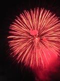 Vuurwerk 1. Royalty-vrije Stock Afbeelding