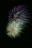 Vuurwerk 1 stock foto's