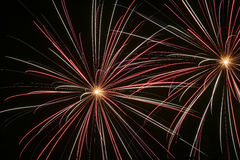 Vuurwerk 1 Royalty-vrije Stock Foto