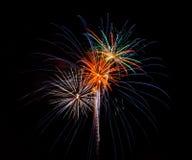 Vuurwerk 2 Stock Afbeelding