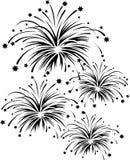 Vuurwerk Royalty-vrije Illustratie
