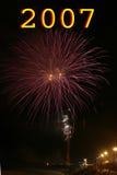 Vuurwerk Stock Afbeeldingen