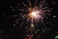 Vuurwerk 2 Royalty-vrije Stock Foto's