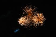 Vuurwerk 2 Stock Afbeeldingen