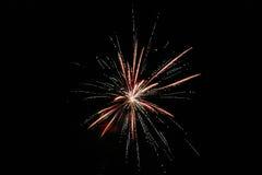 Vuurwerk Royalty-vrije Stock Fotografie