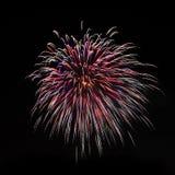 Vuurwerk Royalty-vrije Stock Foto's