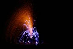 Vuurwerk 3 royalty-vrije stock foto