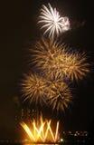 Vuurwerk 3 stock afbeelding