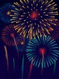 Vuurwerk Stock Illustratie