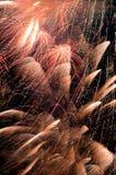 Vuurwerk. Stock Foto's