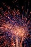 Vuurwerk. Royalty-vrije Stock Afbeelding