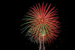 Vuurwerk royalty-vrije stock foto