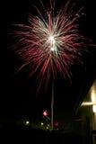 Vuurwerk! Royalty-vrije Stock Afbeeldingen