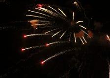 Vuurwerk 6 Stock Foto