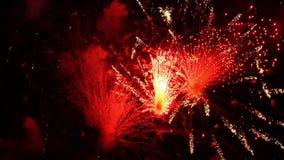 Vuurwerk 13 stock videobeelden
