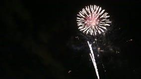 Vuurwerk stock video