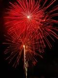 Vuurwerk - 6 Royalty-vrije Stock Foto