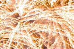 Vuurwerk! Stock Afbeelding