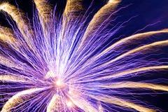Vuurwerk! Royalty-vrije Stock Afbeelding