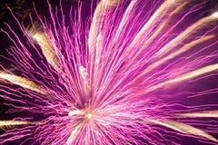Vuurwerk! Stock Foto