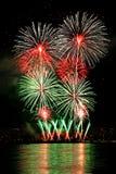 Vuurwerk 7 stock afbeeldingen