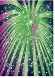 Vuurwerk. vector illustratie