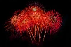 Vuurwerk Abstracte achtergrond, stock fotografie