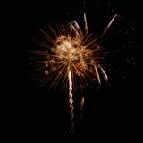 Vuurwerk, begroeting. Stock Afbeelding