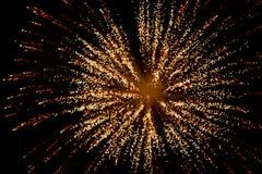 Vuurwerk bij nacht in hemel 5 royalty-vrije stock afbeelding