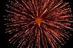 Vuurwerk bij nacht in hemel 8 royalty-vrije stock foto