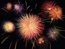 Vuurwerk celebratiom Stock Afbeeldingen