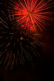 Vuurwerk-Fuegos artificiales Stock Afbeeldingen