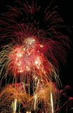 Vuurwerk galore Stock Afbeelding
