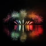 Vuurwerk - Ignis Brunensis stock afbeeldingen