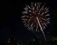 Vuurwerk II stock foto