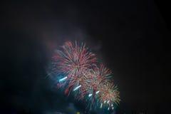 Vuurwerk NYC Stock Fotografie